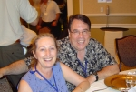 Patti Marks and Phil Jehle at the reunion