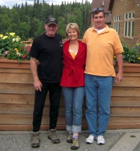 Mark Landry (rt) & Jill Spurway Carricaburu - Wasilla, Alaska